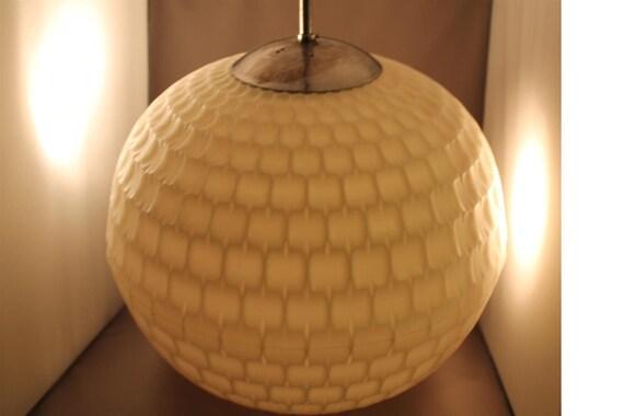 70er 60er jahre erco ufo lampe geometrie design aloys. Black Bedroom Furniture Sets. Home Design Ideas