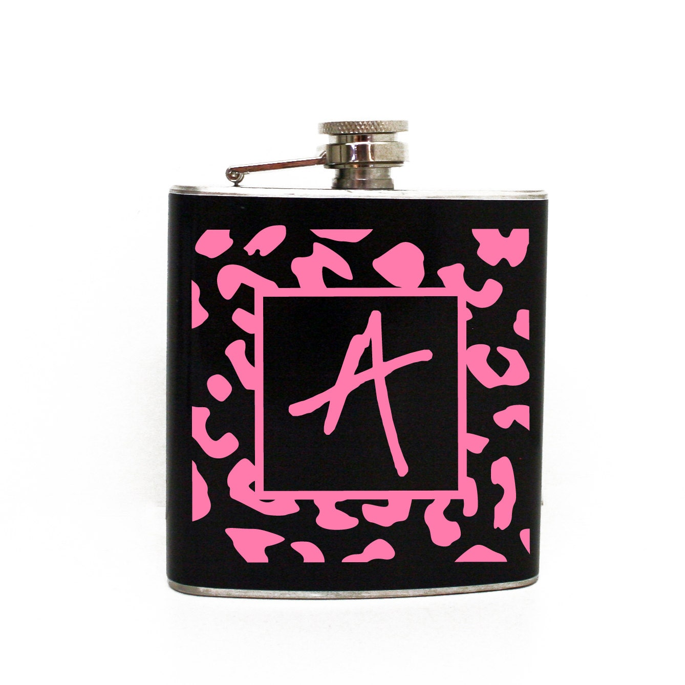 Cheetah Print Flask Leopard Print Flask Girls 21st Birthday