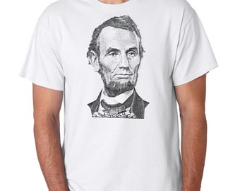 Abraham Lincoln T-shirt 4th of July US President T-shirt