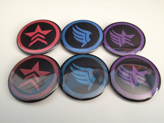 Mass Effect Morality pins