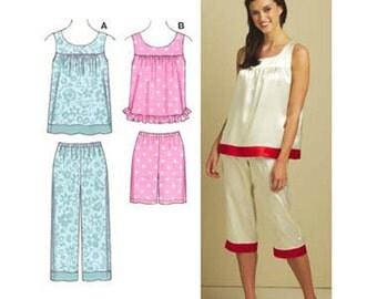 Kwik Sew Pattern. Out of Print  Misses  Pajamas   #K3595