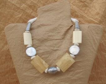 Bone Necklace Indian Necklace Unique Necklace for Women Exotic Necklaces Bohemian Necklaces Boho Necklaces Gypsy Necklaces Classic Necklaces