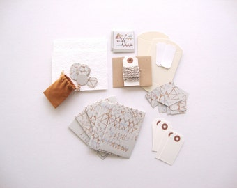 Gift Wrap Set: Notions embellishment scrapbook stationery set