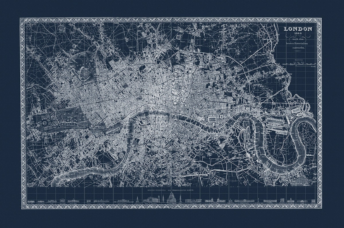 Custom listing for six 16x20 blueprint maps australia 1879 new custom listing for six 16x20 blueprint maps australia 1879 new york 1886 london 1845 costa rica 1932 berlin 1883 new orleans 1845 malvernweather Image collections