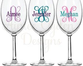 Thermos Funtainer DIY Personalized Name Waterproof Vinyl Decal - Diy vinyl decals for wine glasses