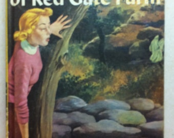 Vintage Nancy Drew Mystery Book The Secret of Red Gate Farm