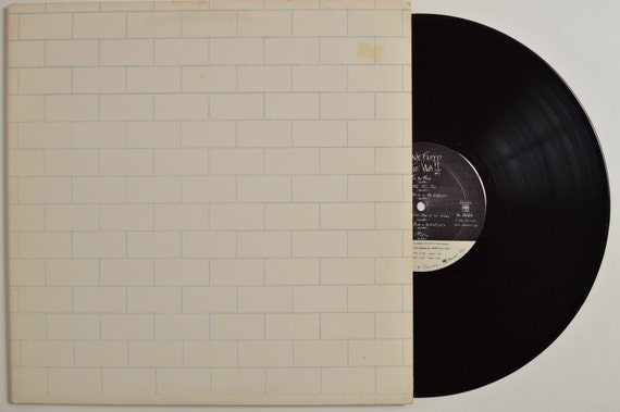 Pink Floyd The Wall Vinyl Record By Blackgoldvinylrecord