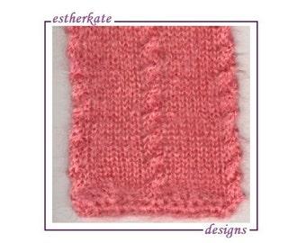Knitting Pattern For Bonding Squares : Bonding scarf Etsy