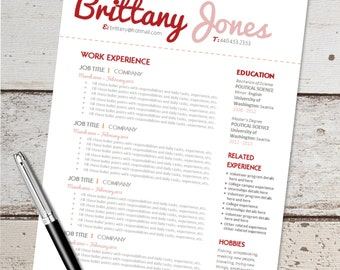 resume cover letters resume template editable cover letter by 1574