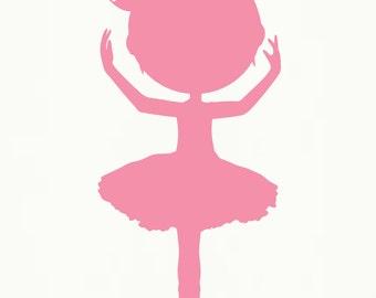 Popular items for ballerina silhouette