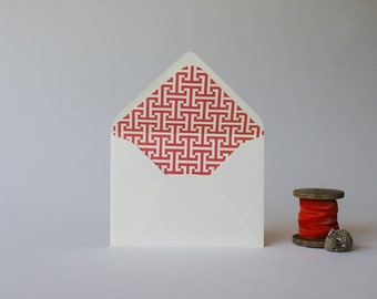 tees lined envelopes (set of 10) - available in 25 colors!
