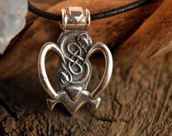 Loki ~ Mischief Maker ~ Sterling Silver Pendant