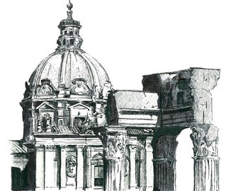 Roman Forum : Print