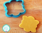 The Vicki Plaque Cookie Cutter and Fondant Cutter