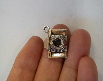 15 camera charm pendant tibetan silver antique silver style wholesale