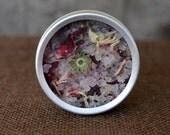 Hibiscus Lotus Herbal Blend Bath Tea Salts or Foot Soak