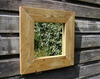Rustic Mirror. Made from Reclaimed Wood.