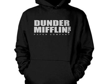Dunder Mifflin Hoodie The Office Sweatshirt Dwight Schrute Shirt