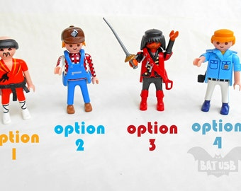 Playmobil usb flash drive 16/32/64 GB - Memory Stick- Playmobil® usb - Upcycled Gadget - Old original Playmobil - Vintage toy collectio