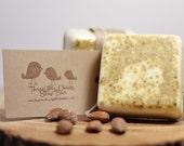 Almond Biscotti Soap with Orange Peel