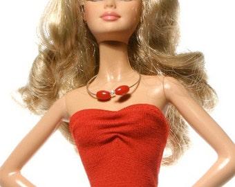 Handmade clothes for Barbie (Top): Cicely