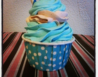 Passion Cupcake Bath Bomb