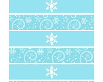 Frozen Napkin wrappers, Napkin Holders printable, Napkin wrappers Printable, Frozen Party Printable, Frozen Decorations