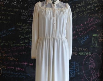 Cardessa White Boho Dress