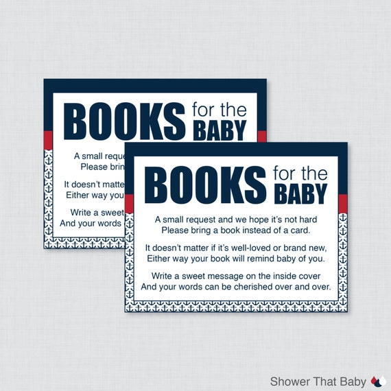 What To Write In Book For Baby Shower Just B Cause