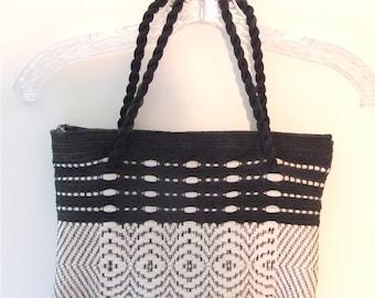 Jo Hagewood Hand Loomed Woven Bag