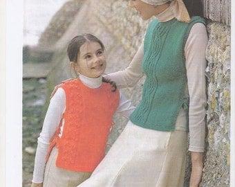 Match Tabard, Tabard Knitting Pattern, Womens Knitting, Girls Knitting, Vintage Tabard, Traditional Tabard. Knitting pattern only.