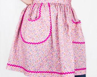 Pretty in Pink Half-Apron (Women's)