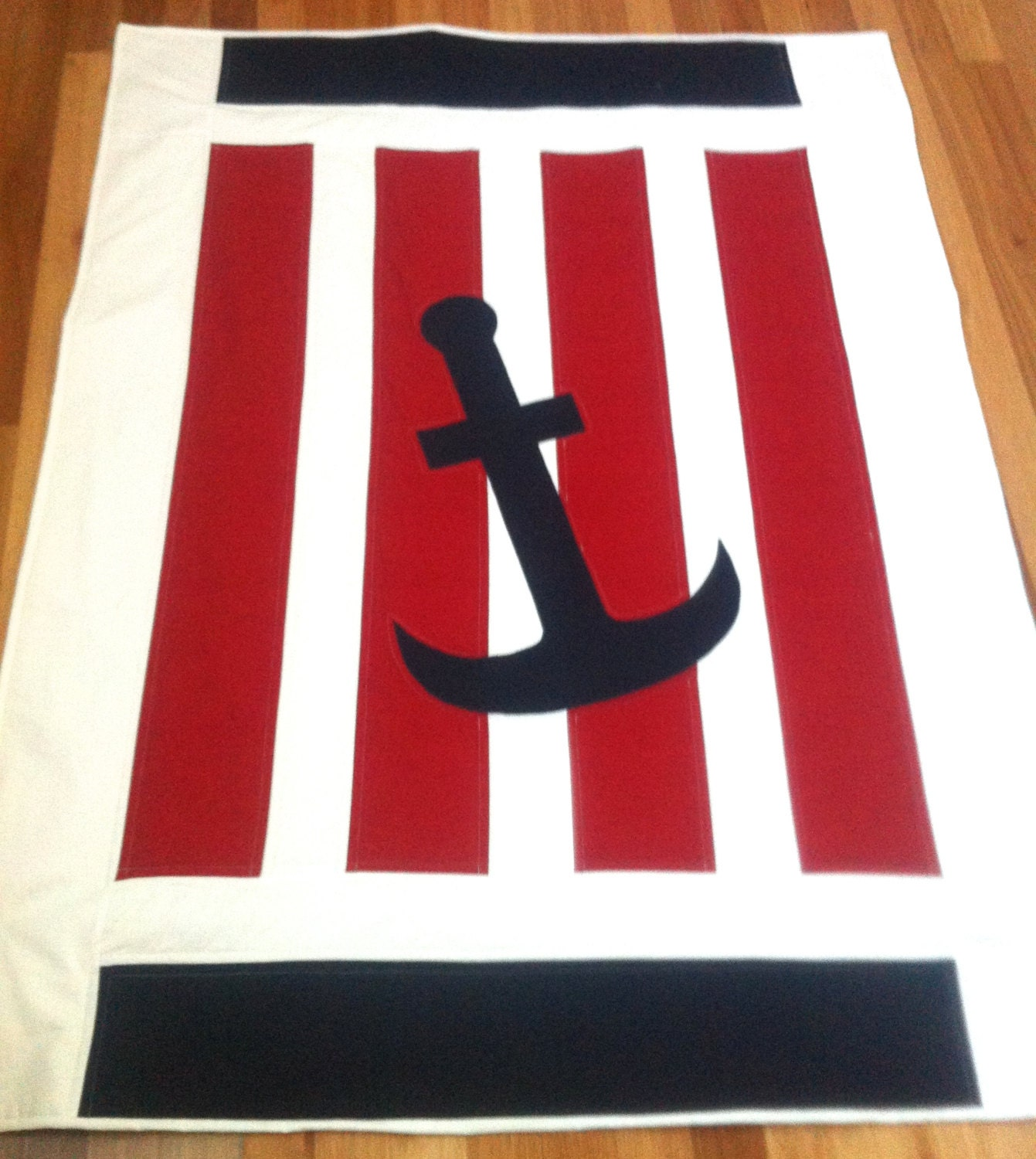 Nautical Baby Quilt Pattern PDF baby quilt pattern nautical