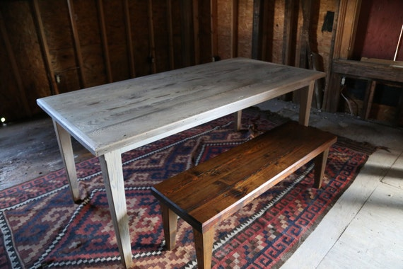Antique Cypress Dining Table By LeCharpentier On Etsy