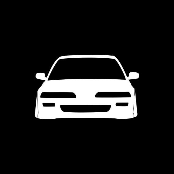 Items Similar To Acura Integra DA Front JDM Car Sticker