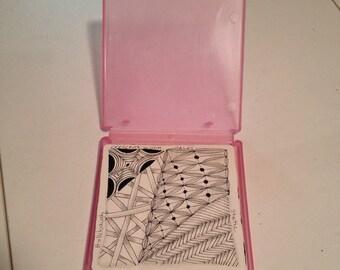 Zentangle Tile Cases