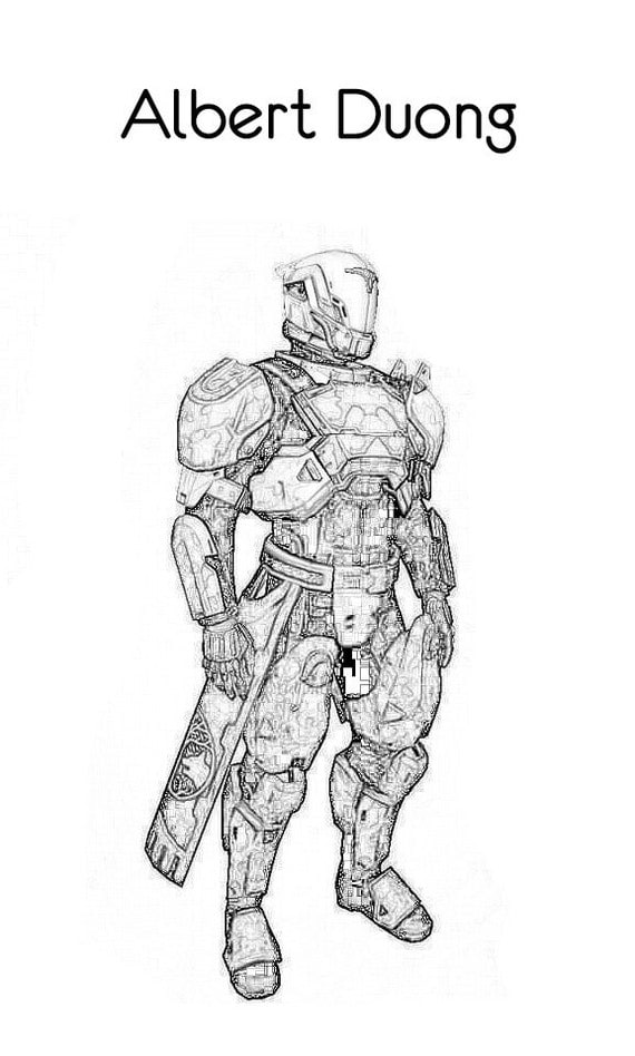 Items similar to Destiny Coloring Book - Beta Characters ...