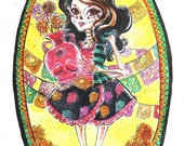Skelita Calavera Art Class of Monster High