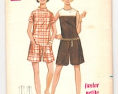 """Vintage Sewing Pattern Ladies' Pantdress Butterick 4805 34"""" Bust - Free Pattern Grading E-book Included"""