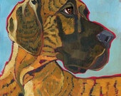 Great Dane No. 6 - magnets, cards, prints