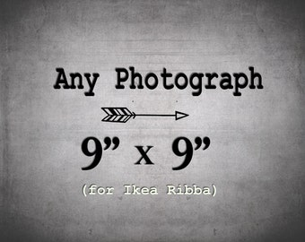 9x9 IKEA Ribba Print / 9 x 9 Photography / Print for Ribba