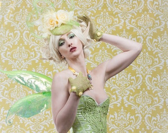 Pixie Fairy Wings Elemental Faery Wings for Bridal Wedding Convention Cosplay LARP Halloween Costume Fair Faire Festival Faery Wings Fairy