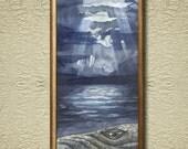 Humpback - Fine Art Print on heavy Cotton Canvas - unframed