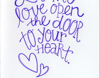 Let My Love Open the Door, Peter Townshend -- A7-- FREE SHIPPING