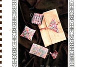 Needlepoint CACHE of CAT'S-PAWS by Sally Dewey & Kathleen Rake - Stitchers' Tool Keepers Patterns in Needlepoint