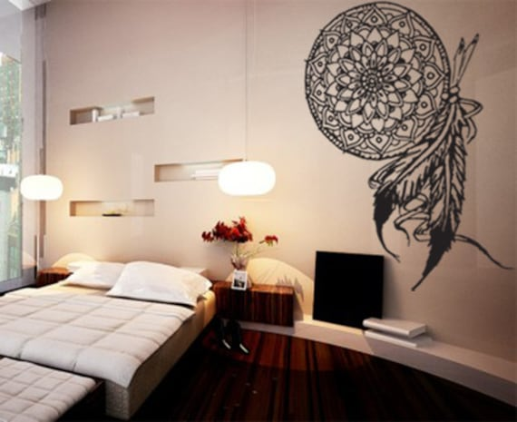 SALE Dream Catcher Vinyl Wall Decal By ThePersonalizedGift
