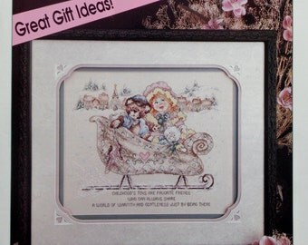 November/December 1992 STONEY CREEK COLLECTION Counted Cross Stitch Pattern Magazine