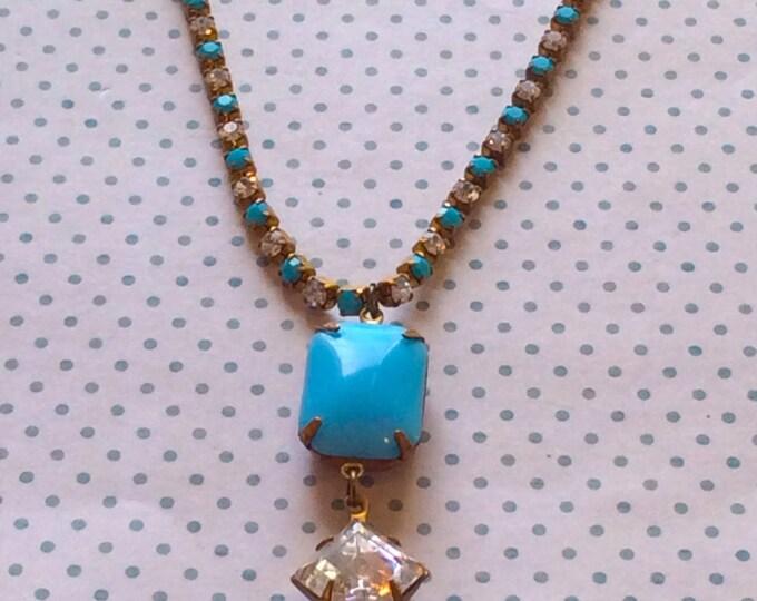 Vintage Jewelry, Necklace for Women, Vintage Accessories, Vintage Jewelry, Antique Jewelry, Vintage Style Jewelry, Swarovski Necklace,