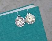 Geometric Jewelry, Aztec Inspired Earrings, Western Jewelry