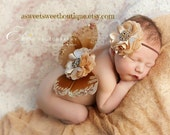 Baby Butterfly Wings Sweet Amber Sparkle Wings And Headband Set From The Sweet Fairy Fancy Collection Beautiful Newborn Photo Prop